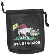 Leatherette Golfers Pouch