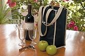 Insulated Wine Bottle Tote Bag