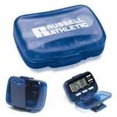 Multi Function Pedometer (w/Hinged Cover)