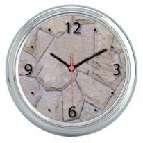 Polished Chrome Style Wall Clock