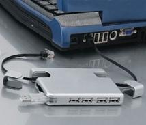 2-in-1 USB 4 Port Hub With Cat. 5 Cable