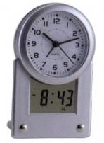 Dual Time Desk Clock With Date - II