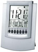 Wall/Desktop Atomic Clock in Aluminum Metal Case