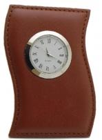 Laguna Leather Deskclock