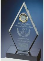 Crystal Diamond Award Clock