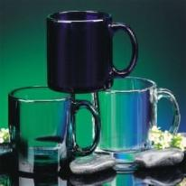 13 oz. Hardy Tempered Clear Mugs