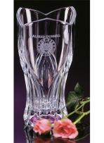 "73/4"" Giverny Crystal Suite Vase"