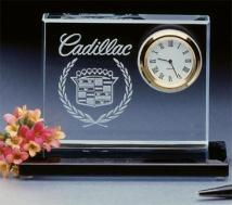 Crystal Clear Crystal Desk Clocks