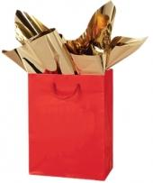 Gold Foil Angel Gloss Euro Tote