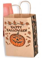 Natural Kraft Pumpkin Shopper