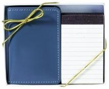 Stitched Pocket Pocket Note Pad Gift Set