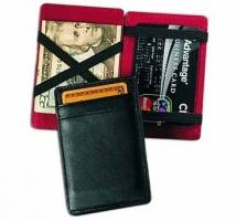 Magic Wallet/Business Card Case - Genuine Split 2.3 oz.