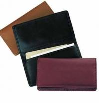 International/Domestic Business Card Case - Florentine Napa