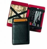 Magic Wallet/Business Card Case - Florentine Napa 2.3 oz.