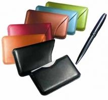 Slide-Out Business Card Case - Florentine Napa 1.9 oz.