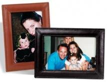 4 X 6 Single Picture Frame - Synthetic Leather 5.9 oz.