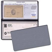 Checkbook Covers - Frosted Vinyl Covers