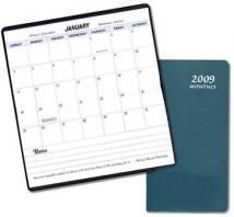 Monthly Pocket - Horizontal - Leatherette Covers