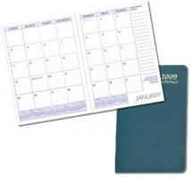 Monthly Desk Appointment Planners - Leatherette Covers