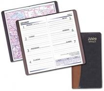 Weekly Pocket Planners - Carriage Vinyl Covers