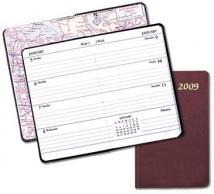 Mini Weekly Pocket Planners - Leatherette Covers