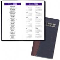 Twenty Year Pocket Planners - Carriage Vinyl Covers