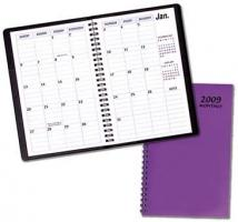 Monthly Desk Appointment Planners - TechnoColor Covers