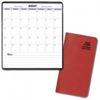 Academic Monthly Pocket Planners - Leatherette Covers