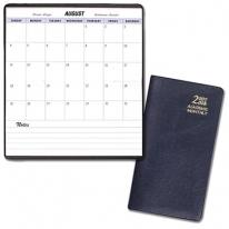 Academic Monthly Pocket Planners - Continental Vinyl Covers