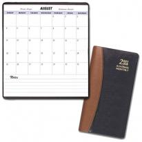 Academic Monthly Pocket Planners - Carriage Vinyl Covers