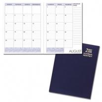 Academic Monthly Desk Planners - Leatherette Covers