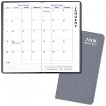Monthly Pocket - Upright - Frosted Vinyl Covers
