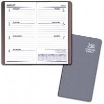 Academic Weekly Pocket Planners - Frosted Vinyl Covers