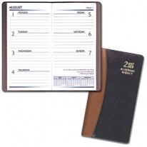 Academic Weekly Pocket Planners - Carriage Vinyl Covers