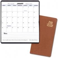 Two Year Pocket Planners - Contintal Vinyl Covers