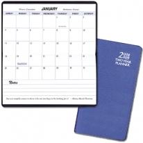 Two Year Pocket Planners - Frosted Vinyl Covers