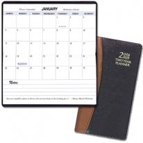 Two Year Pocket Planners - Carriage Vinyl Covers