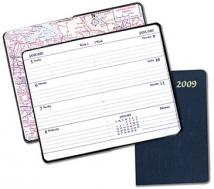 Mini Weekly Pocket Planners - Continental Vinyl Covers