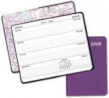 Mini Weekly Pocket Planners - Frosted Vinyl Covers