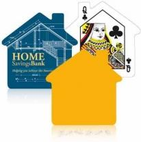House Shape Playing Cards