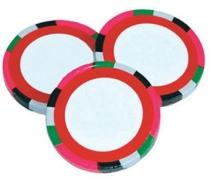 Poker Chip - Decorated Custom