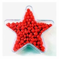Large Star Filled With Mike and Ikes