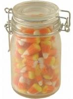 8 oz. Glass Canning Jar Filled With Candy Corn