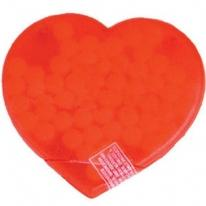 Heart Candy Card Filled with Power Mints