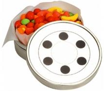 Small Move Reel Tin With Jelly Beans