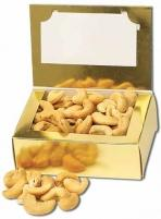 Business Card Box With Chocolate or Nut Filler Confections