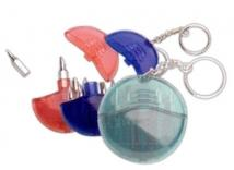 Translucent 5 Function Tool Kit With Keychain