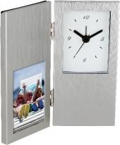 "Cardin I 2"" X 3"" Photo Frame & Hinged Clock"