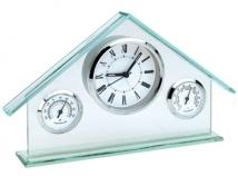 Glass House Weather Station Clock