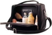 Angolan Leather Cosmetic Bag The Executive Collection